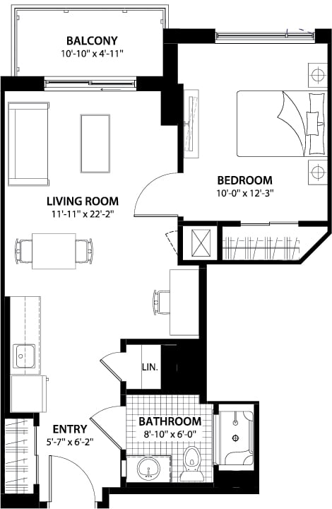 Foxview Blanford Condo Floor Plans